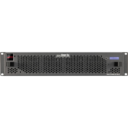Blackmagic Design openGear 21-Slot Frame with Cooling Fans, Basic Networking & Power Supply