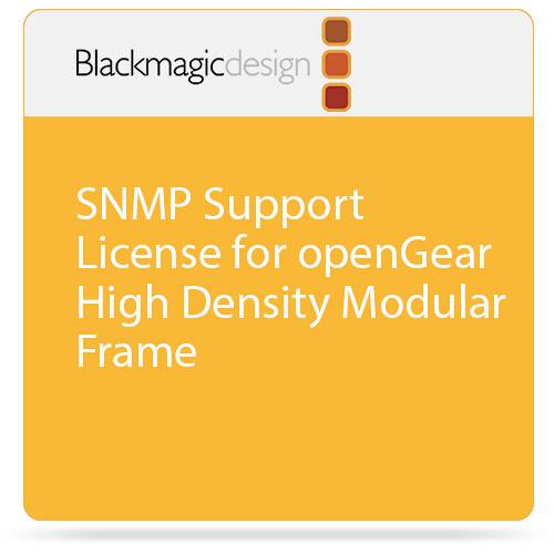 Blackmagic Design SNMP Support License for openGear High Density Modular Frame