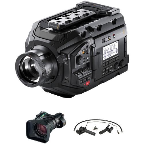 Blackmagic Design URSA Broadcast with Fujinon 8.5-170mm Lens, 2x Extender & Zoom/Focus Control