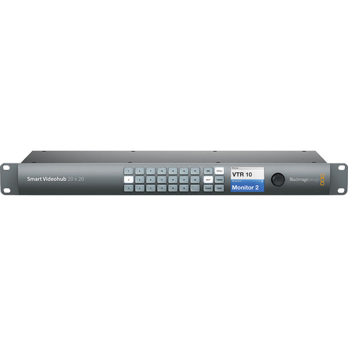 Blackmagic Design Smart Videohub 20 x 20 6G-SDI