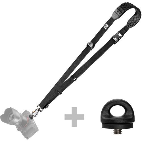 BlackRapid Cross Shot Bundle - Cross Shot-BK and Extra FR-5 Lightweight Series (Black)
