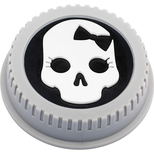 BlackRapid LensBling Skull with Bow Cap for Nikon Lenses