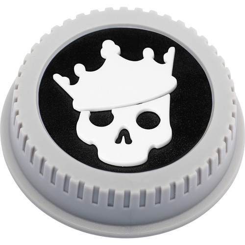 BlackRapid LensBling Skull with Crown Cap for Nikon Lenses