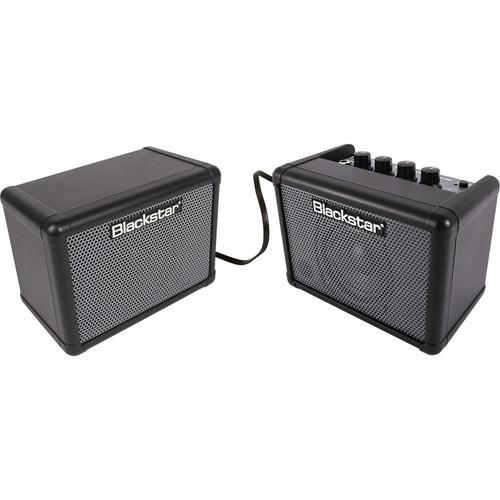 Blackstar FLY 3 Stereo Bass Pack - Battery-Powered Mini Bass Guitar Amp, Extension Cabinet & Power Supply
