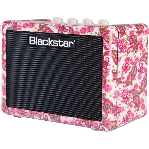 Blackstar FLY 3 3-Watt Mini Guitar Amplifier (Pink Paisley)