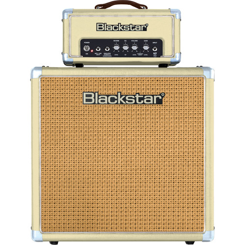 Blackstar HT-1R 1W Amp Head with HT-112 50W Cabinet (Limited Edition Blonde)