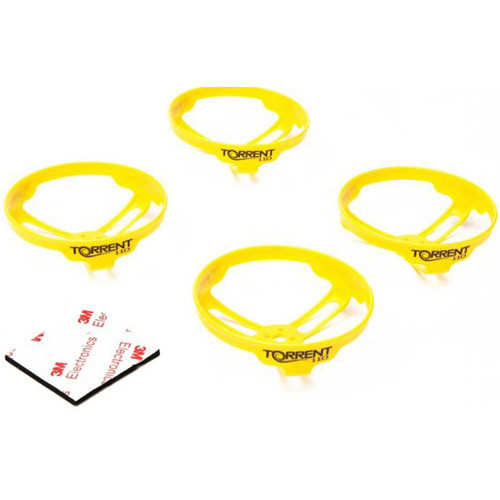 BLADE Propeller Guard for Torrent 110 FPV Drone (Pack of 4, Yellow)