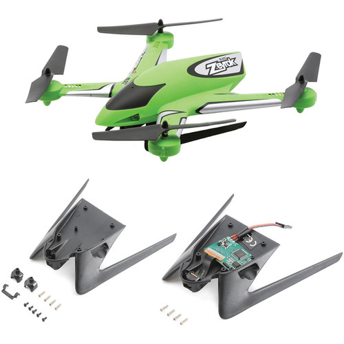 BLADE Zeyrok BNF Quadcopter with Camera and Landing Gear (Green)