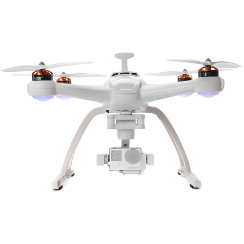 BLADE Chroma Camera Drone with 3-Axis Gimbal for HERO4 & ST-10+ Ground Station (RTF)