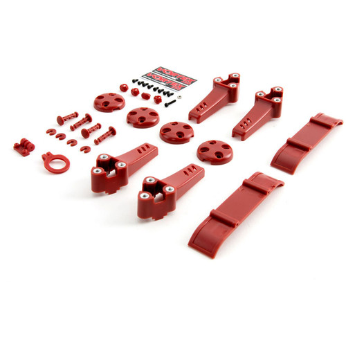 BLADE Plastic Kit for Vortex Pro Quadcopter (Red)