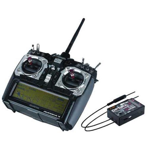 BLADE Aurora 9 2.4 GHz Transmitter & Optima 9 Receiver Kit for RC Aircraft