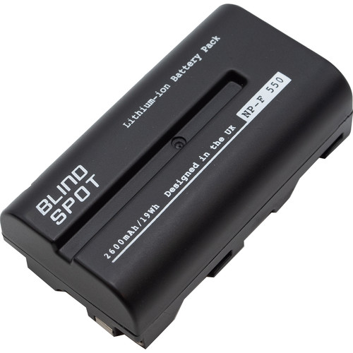 Blind Spot Gear 7.4V L-Series 2600mAh Li-Ion Battery for Tile or Scorpion Lights