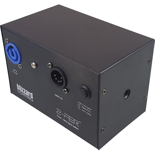 Blizzard 2-Fer 2-Way Power and DMX Signal Splitter (5-Pin)