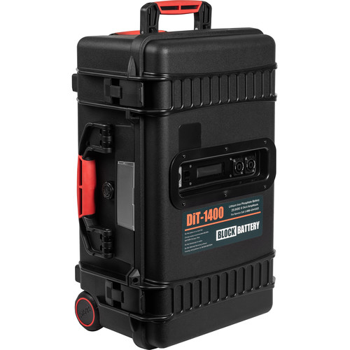 BlockBattery DiT-1400 Lithium-Ion 1400Wh Block Battery System with Charger