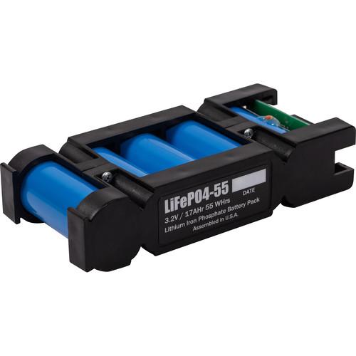 BlockBattery LiFePO4-55 Lithium-Ion Cartridge for SLI/HCL Battery Block Systems