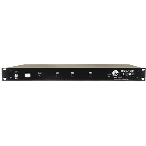 Blonder Tongue CATV Channelized Audio/Video Modulator with SAW Filtering (Channel 12)