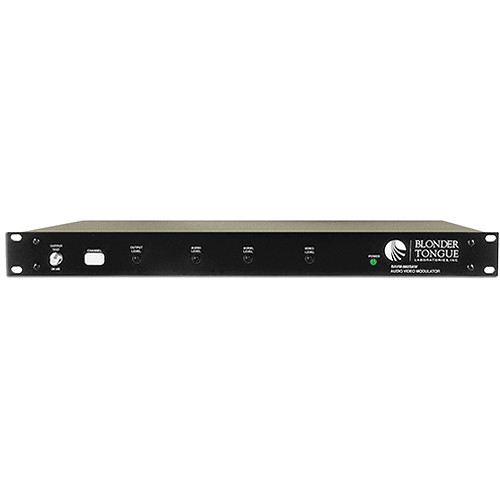 Blonder Tongue CATV Channelized Audio/Video Modulator with SAW Filtering (Channel 19)