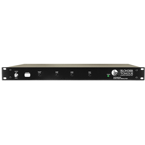Blonder Tongue CATV Channelized Audio/Video Modulator with SAW Filtering (Channel 21)