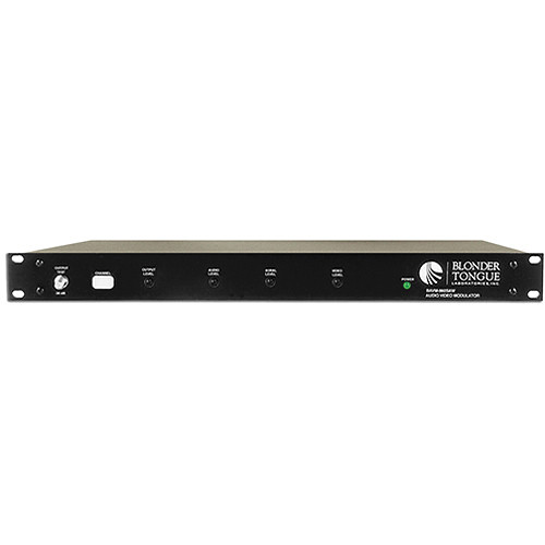 Blonder Tongue CATV Channelized Audio/Video Modulator with SAW Filtering (Channel 22)