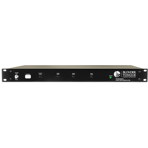 Blonder Tongue CATV Channelized Audio/Video Modulator with SAW Filtering (Channel 37)