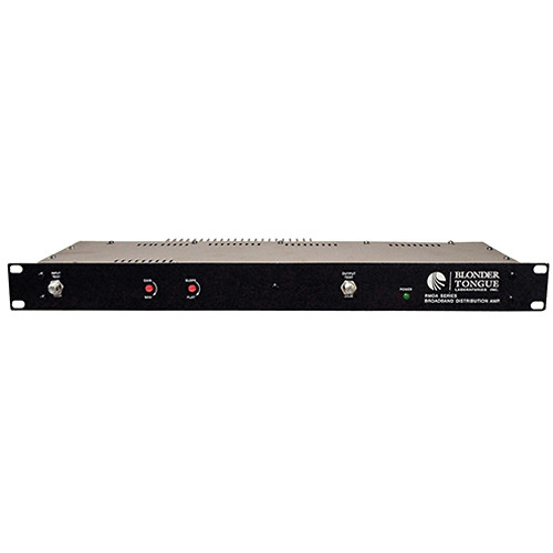 Blonder Tongue RMDA 550-50 Rackmount RF Distribution Amplifier (47 to 550 MHz, 50 dB)