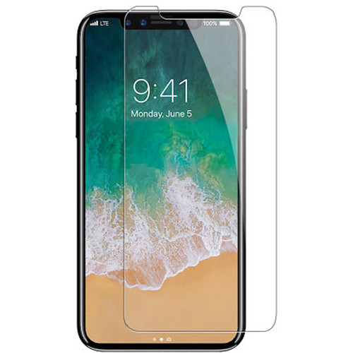BlooPro Clear Tempered Glass Screen Protector for iPhone X/XS