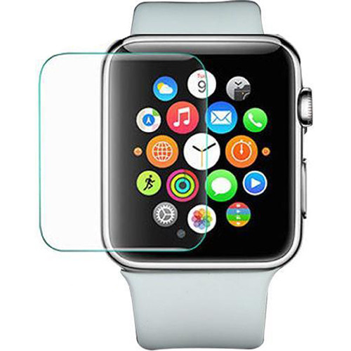 BlooPro Clear Tempered Glass Screen Protector for 38mm Apple Watch