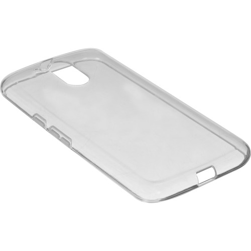 BlooPro Silicone Protective Case for Motorola Moto G4/G4 Plus (Clear)