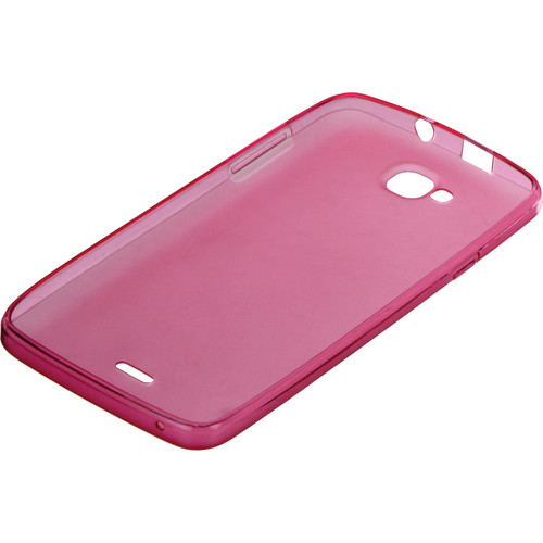 BLU Silicone Case for Studio 5.5 S D630 Smartphone (Pink)