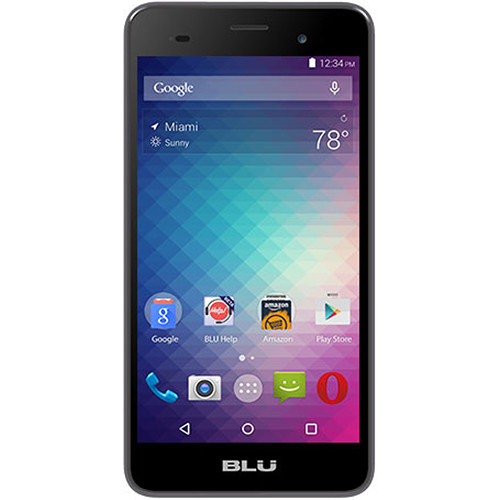 BLU Dash M2 D090U 4GB Smartphone (Unlocked, Gray)