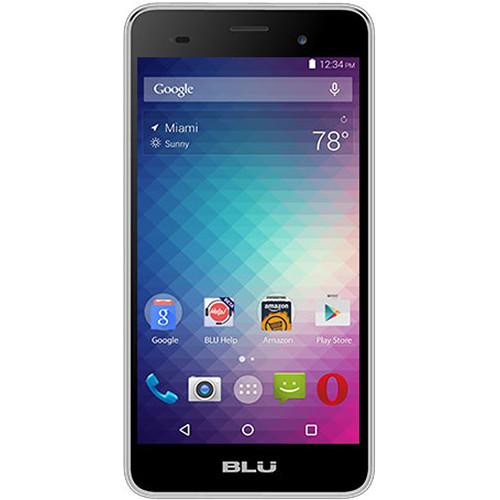 BLU Dash M2 D090U 4GB Smartphone (Unlocked, Silver)