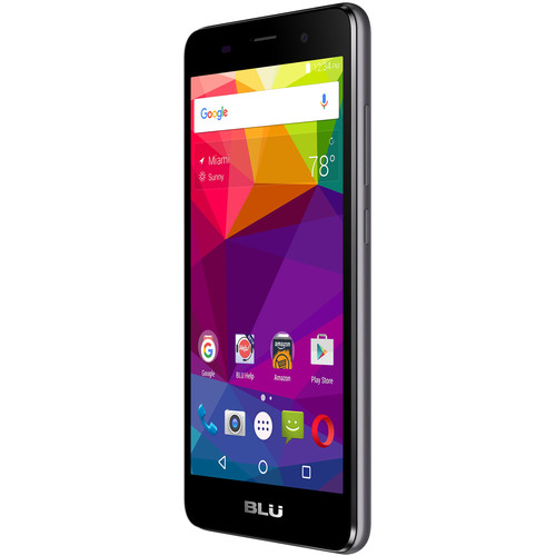 BLU Dash X2 D110U 8GB Smartphone (Unlocked, Gray)