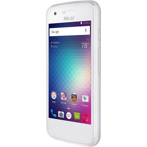 BLU Dash L2 D250U 4GB Smartphone (Unlocked, White)