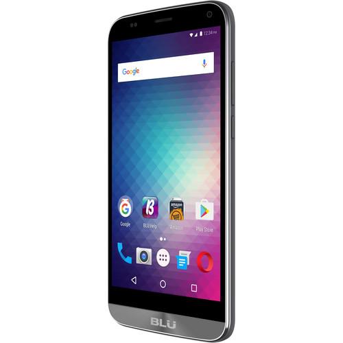BLU Dash XL D710U 8GB Smartphone (Unlocked, Gray)
