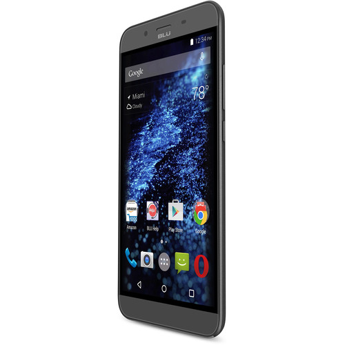 BLU Studio XL D850Q 8GB Smartphone (Unlocked, Black)
