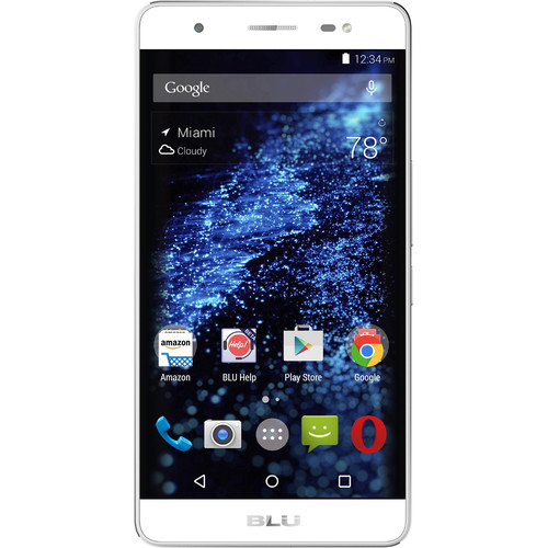 BLU Energy X Plus E030U 8GB Smartphone (Unlocked, Silver)