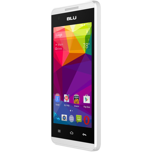 BLU Energy JR E070 512MB Smartphone (White)