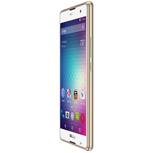 BLU Grand 5.5 HD G030U 8GB Smartphone (Unlocked, Gold)