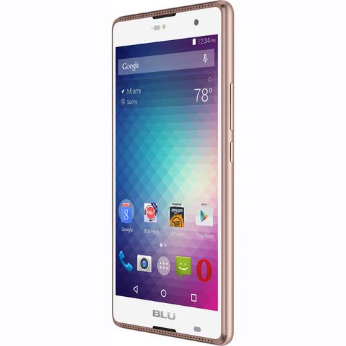 BLU Grand 5.5 HD G030U 8GB Smartphone (Unlocked, Rose Gold)