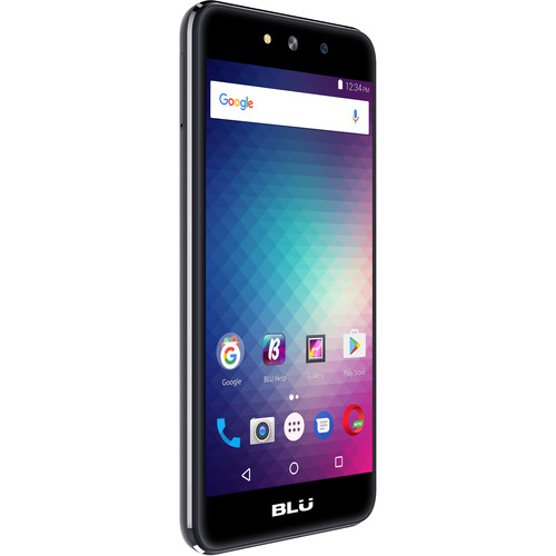 BLU Grand M G070Q 8GB Smartphone (Unlocked, Gray)