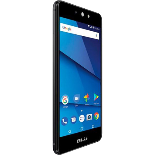 BLU Grand M2 LTE G0050UU Dual-SIM 8GB Smartphone (Unlocked, Black)