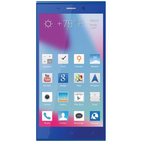BLU Life Pure XL L259L 16GB Smartphone (Unlocked, Blue)