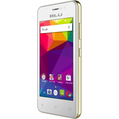 BLU NEO ENERGY MINI N130U 4GB Smartphone (Unlocked, White)