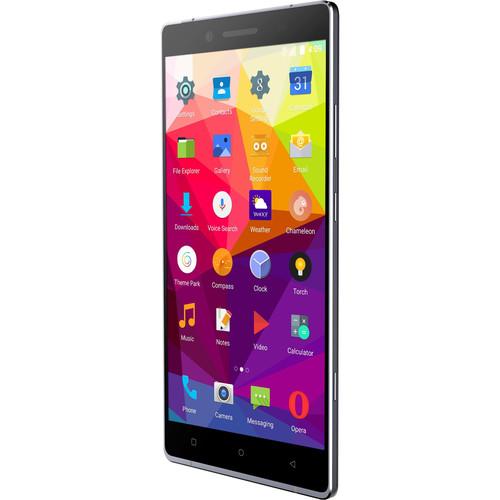 BLU Pure XL P0010UU 64GB Smartphone (Unlocked, Gray)