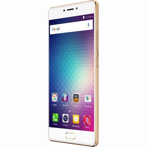 BLU Pure XR P0030UU 64GB Smartphone (Unlocked, Gold)