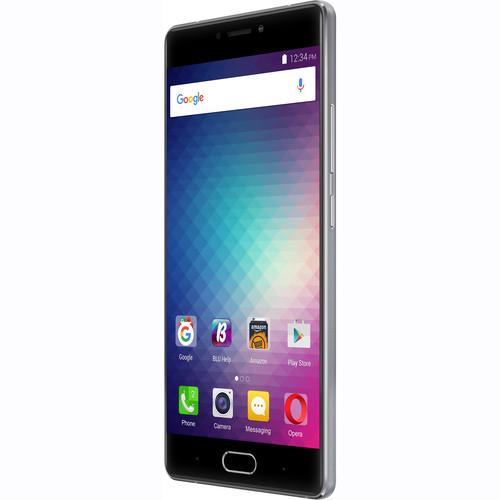 BLU Pure XR P0030UU 64GB Smartphone (Unlocked, Gray)