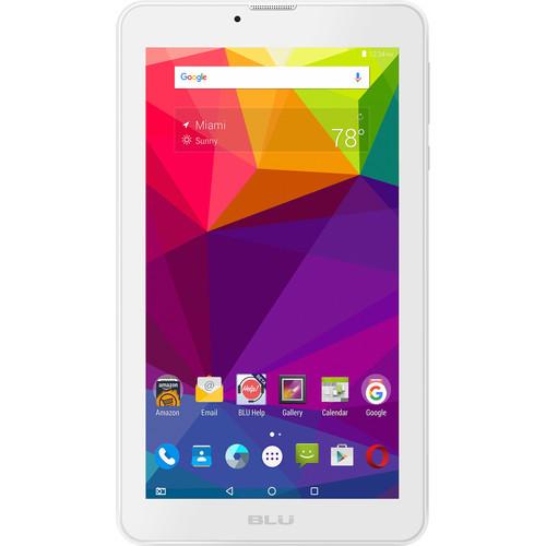 BLU Touchbook M7 P270L 8GB Smartphone (Unlocked, White)