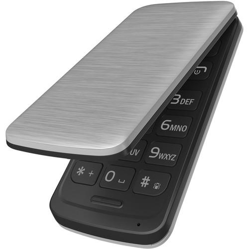 BLU DIVA FLEX 2.4 32MB Feature Phone (Unlocked, Silver)