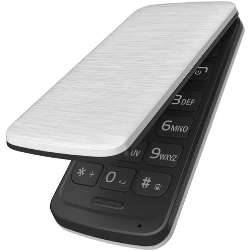BLU DIVA FLEX 2.4 32MB Feature Phone (Unlocked, White)