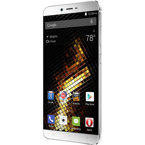 BLU Vivo 5 V0050UU 32GB Smartphone (Unlocked, Liquid Silver)